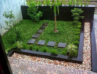 cara membuat taman sederhana di halaman rumah