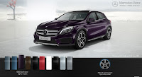 Mercedes GLA 250 4MATIC 2015 màu Tím Northern Lights 592