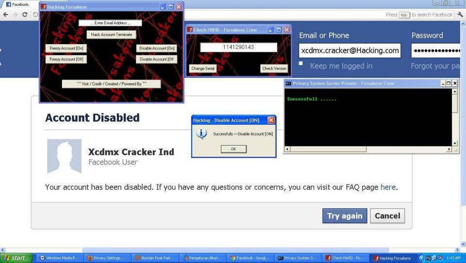 Hack Akun Facebook 2013 | Mafia BloGGer Sitez