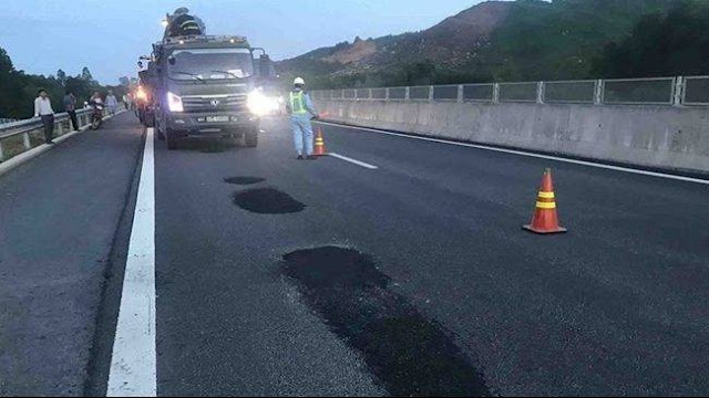 Sửa chữa cao tốc Đà Nẵng - Quảng Ngãi