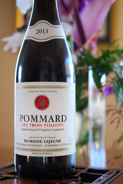 Domaine Lejeune Pommard Les Trois Follots 2013 by Greg Hudson