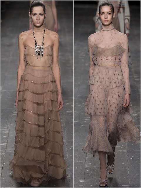 платье с оборками фото