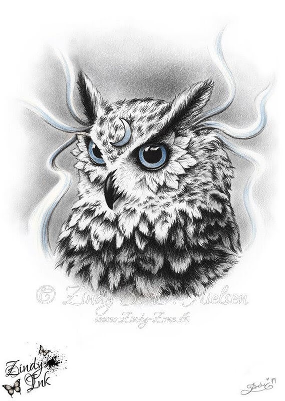 12-Moon-Spirit-Owl-Zindy-Nielsen-Fantasy-Animals-Meet-Realistic-Ones-www-designstack-co