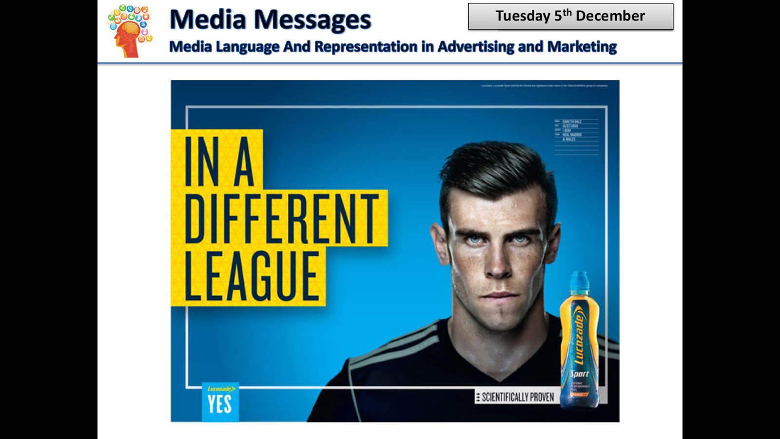 lucozade case study The lucozade energy twitter and facebook communities grew to over 52k and 626k respectively, with much of the content coming from festival activity recognition.