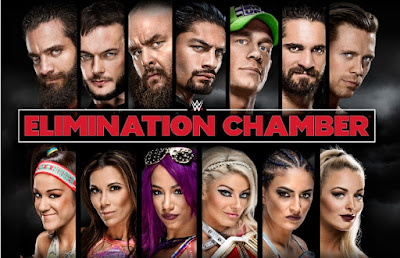 WWE Elimination Chamber 2018 PPV WEBRip 480p 800MB x264