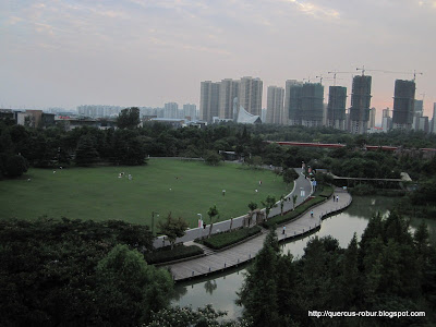 Qing Feng Park in Changzhou