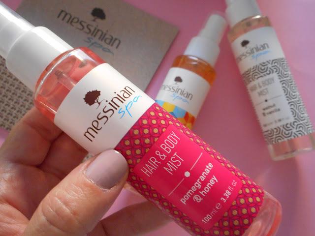 Glowbox Back to Cool: Messinian Spa, Hair & Body Mist Pomegranate & Honey
