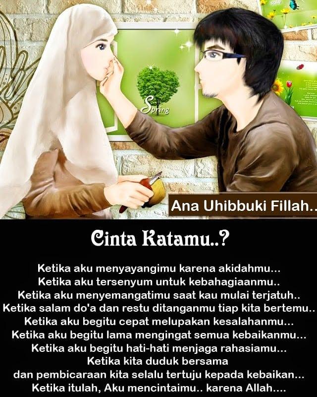 165 Kata Kata Cinta Islami Yang Indah Penuh Makna Kata