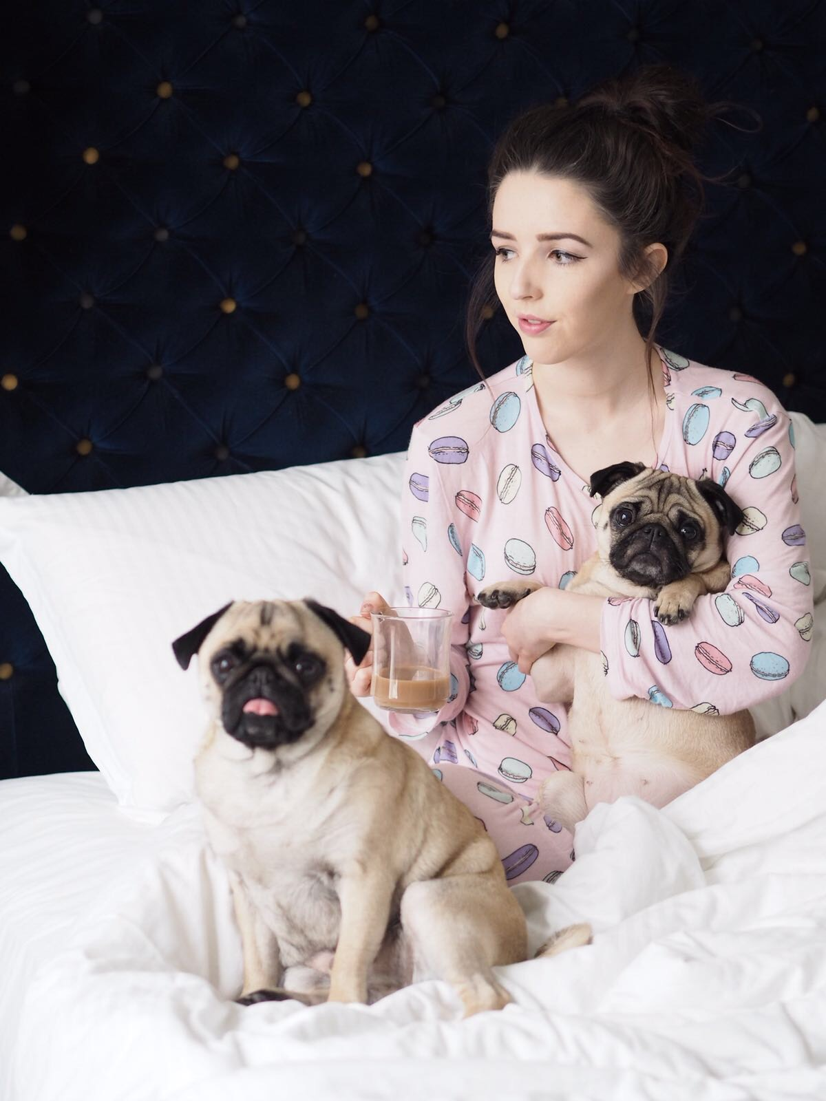 UK Blogger, UK Lifestyle Blog, Chelsea Peers Pyjamas, Getting Cosy, MandM Direct, Pug