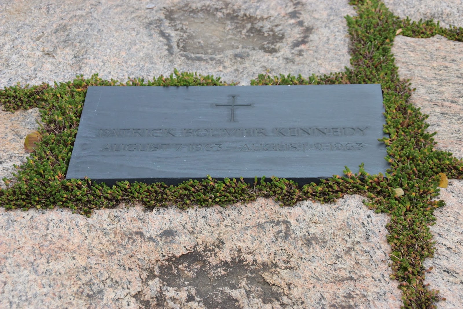 The Mr. Hunter Wall: The Kennedy Gravesite at Arlington ...