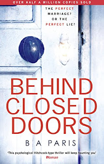 """If you love The Girl on the Train read Behind Closed Doors …"" B A PARIS £0.99"