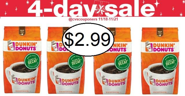 http://www.cvscouponers.com/2018/11/dunkin-donuts-coffee-cvs-deal-1118-1121.html