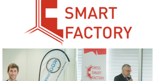 See Your Box at the inauguration of Swiss Smart Factory in BielBien