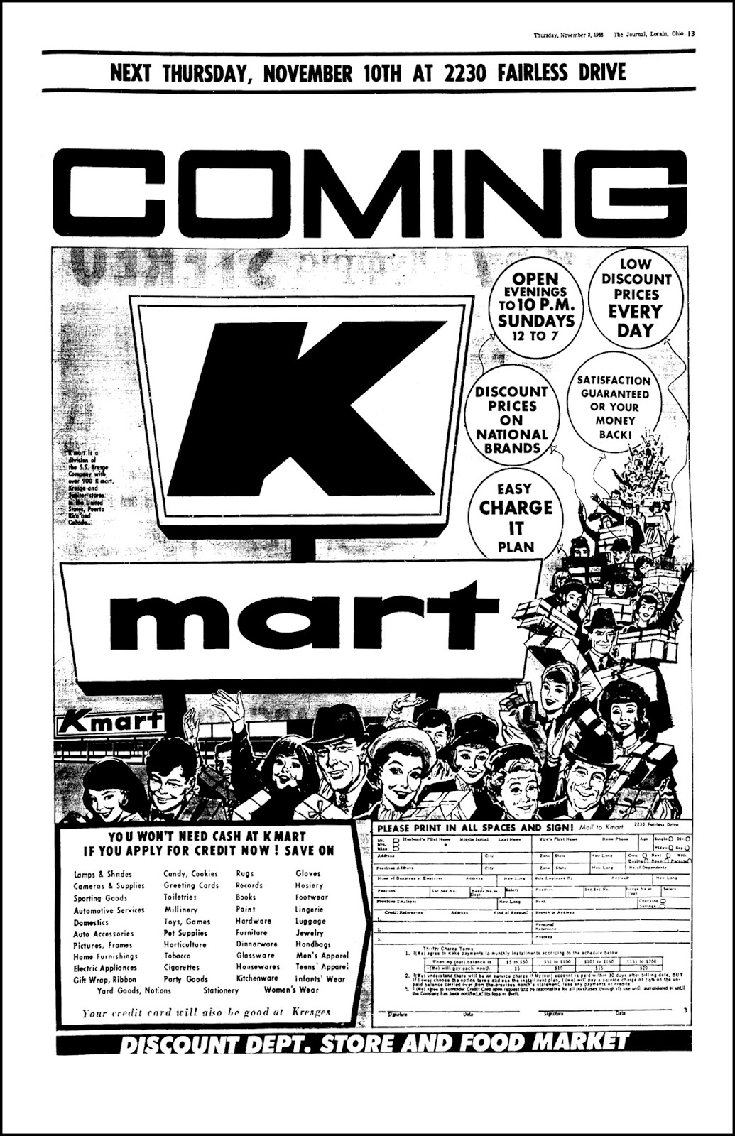 Kmart is owned by Sears Holding Corp, which announced closures to more than 1 00 Kmart and Sears stores this year. In the '90s, there were more than 90 Kmart SuperCenters. Five of the remaining.