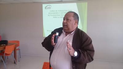 """Dictan conferencia sobre """"Manejo y uso de plaguicidas para la Inocuidad"""" dirigida a estudiantes y profesionales agropecuarios"""