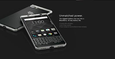 BlackBerry KEYone specs