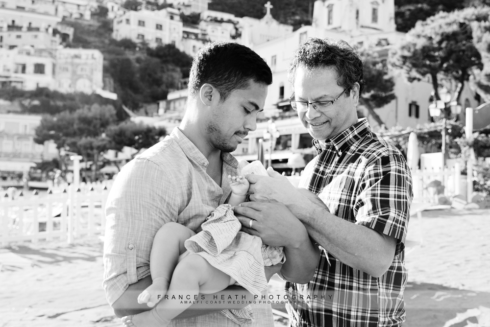 Family in Positano