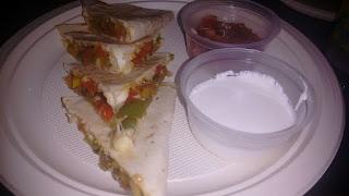 Veg quesadilla - Food Review