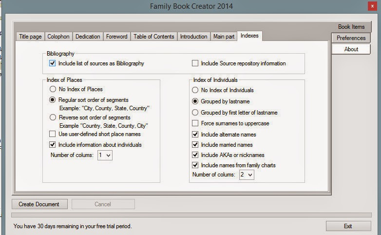 Family Tree Maker User: Family Book Creator - the First Plug