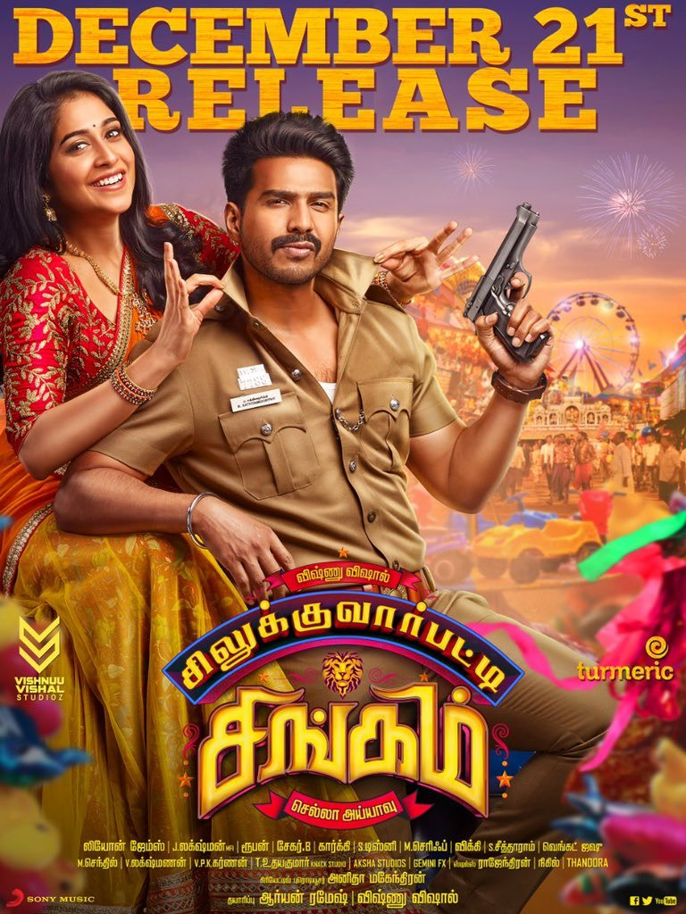 Silukkuvarupatti Singam 2018 Hindi Dual Audio 650MB UNCUT HDRip 720p HEVC ESubs