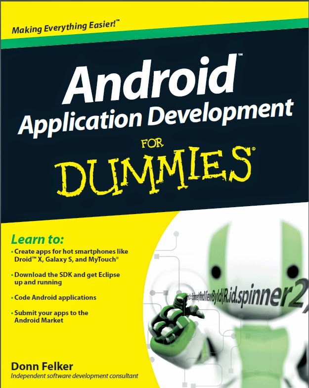 Beginning Android Application Development For Dummies