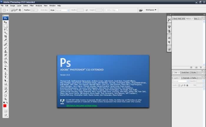 Hàng cổ - Phần mềm đồ họa Adobe Photoshop CS3