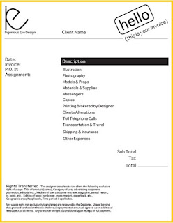 work invoice template word