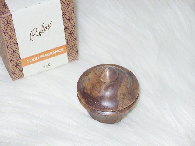 Recenzja: Perfumy w kamieniu Relax, Song of India
