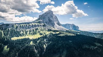 GPX-Track Mountainbiketour Dolomiten