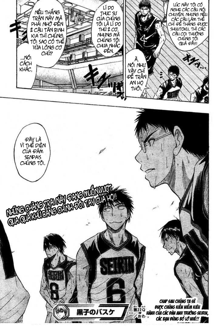 Kuroko No Basket chap 022 trang 24