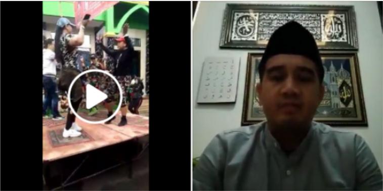 Kampanye PDI P Injak Sajadah Sambil Joged, Akhirnya Pakai Peci dan Minta Maaf