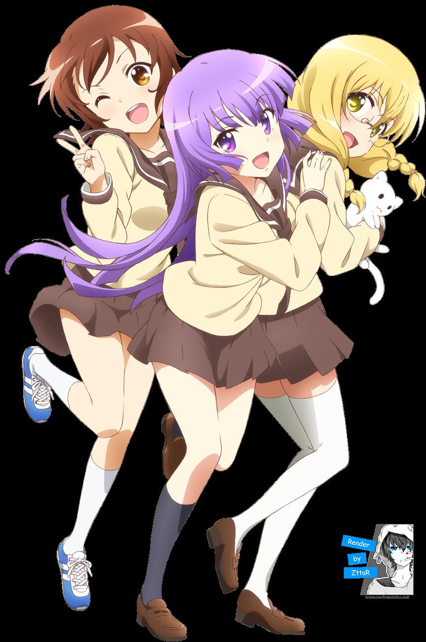 Render Hayama Teru, Nishikawa Youko and Odagiri Futaba