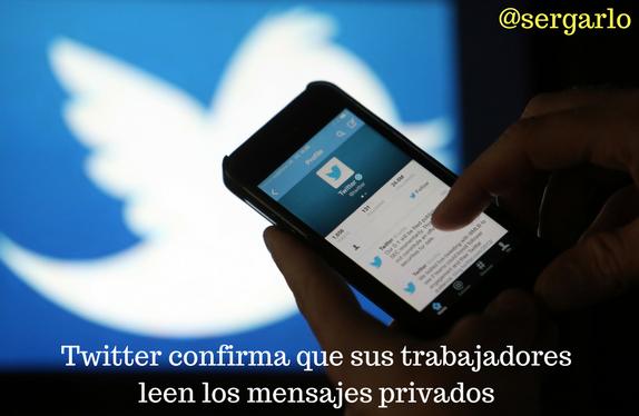 Twitter, mensajes directos, leer, trabajadores, privados, anunciantes