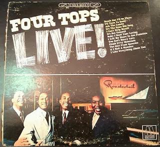 four tops live vinyl