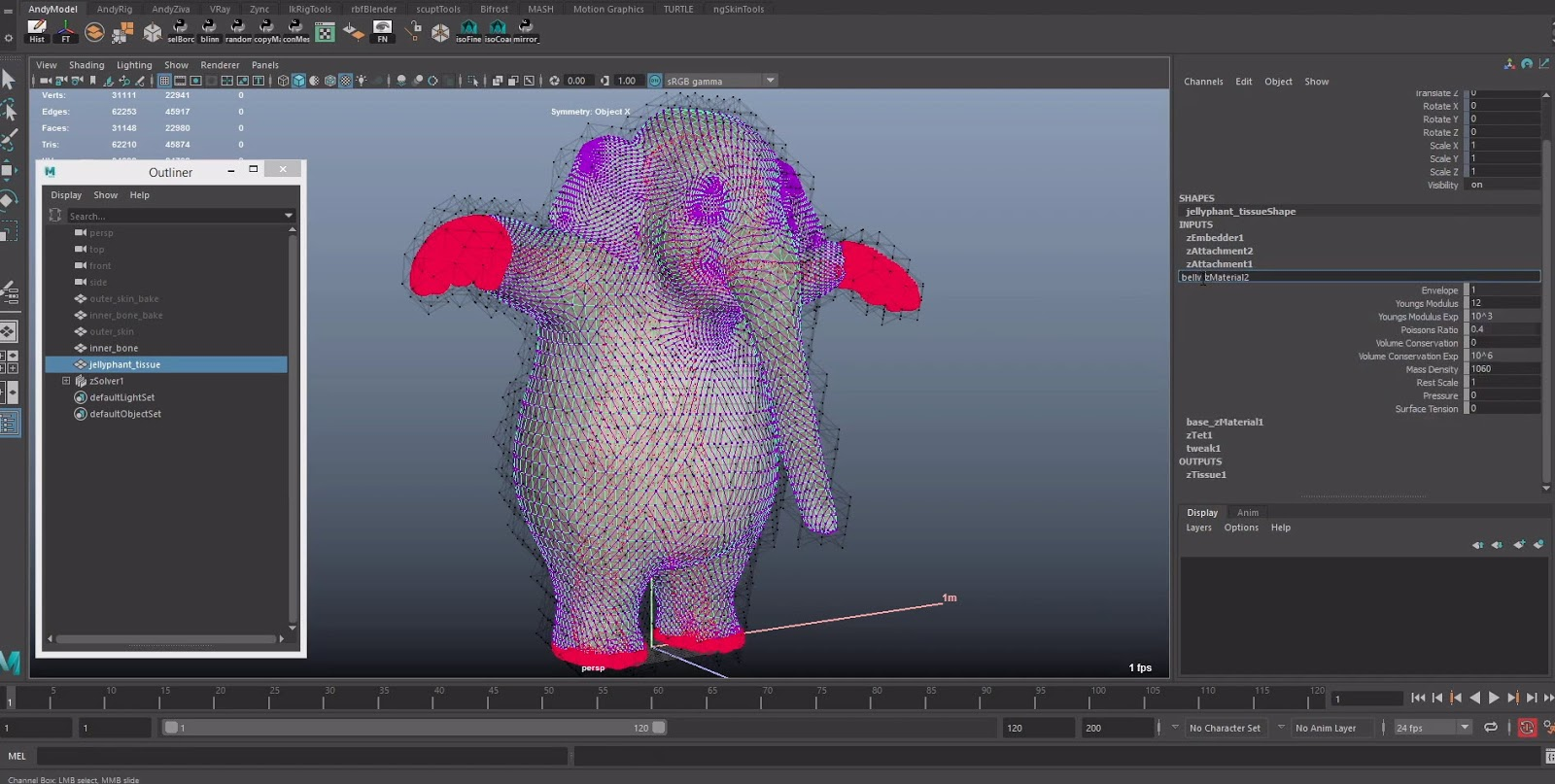 Making a Character from Scratch with Ziva VFX for Autodesk
