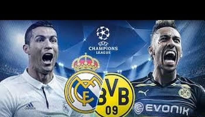 Ver Real Madrid vs Borussia Dortmund En Vivo