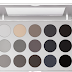 Kryolan Smokey Grey Matte Eye Shadow Palette 15 Colori Swatches Review