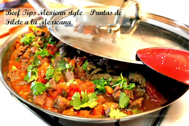 Bistec Ranchero Recipe | Bistec a La Mexicana| Authentic Mexican Recipes by Mexico in My Kitchen