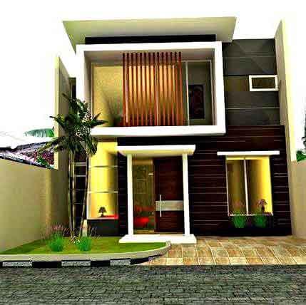 Desain Rumah Minimalis 2 Lantai Sederhana 2018