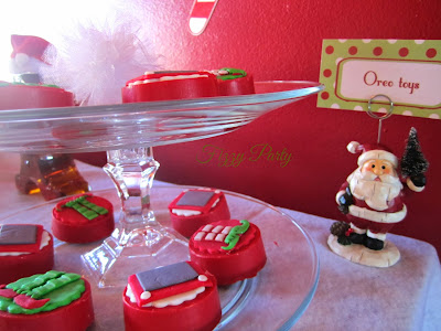 Elf Party, Christmas Party, Fizzy Party, Chocolate Covered Oreo's, Kima's Konfections