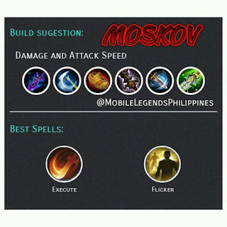 mobile legends Moskov attack speed build