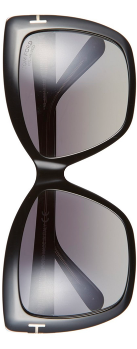 Tom Ford Irina 59mm Polarized Sunglasses