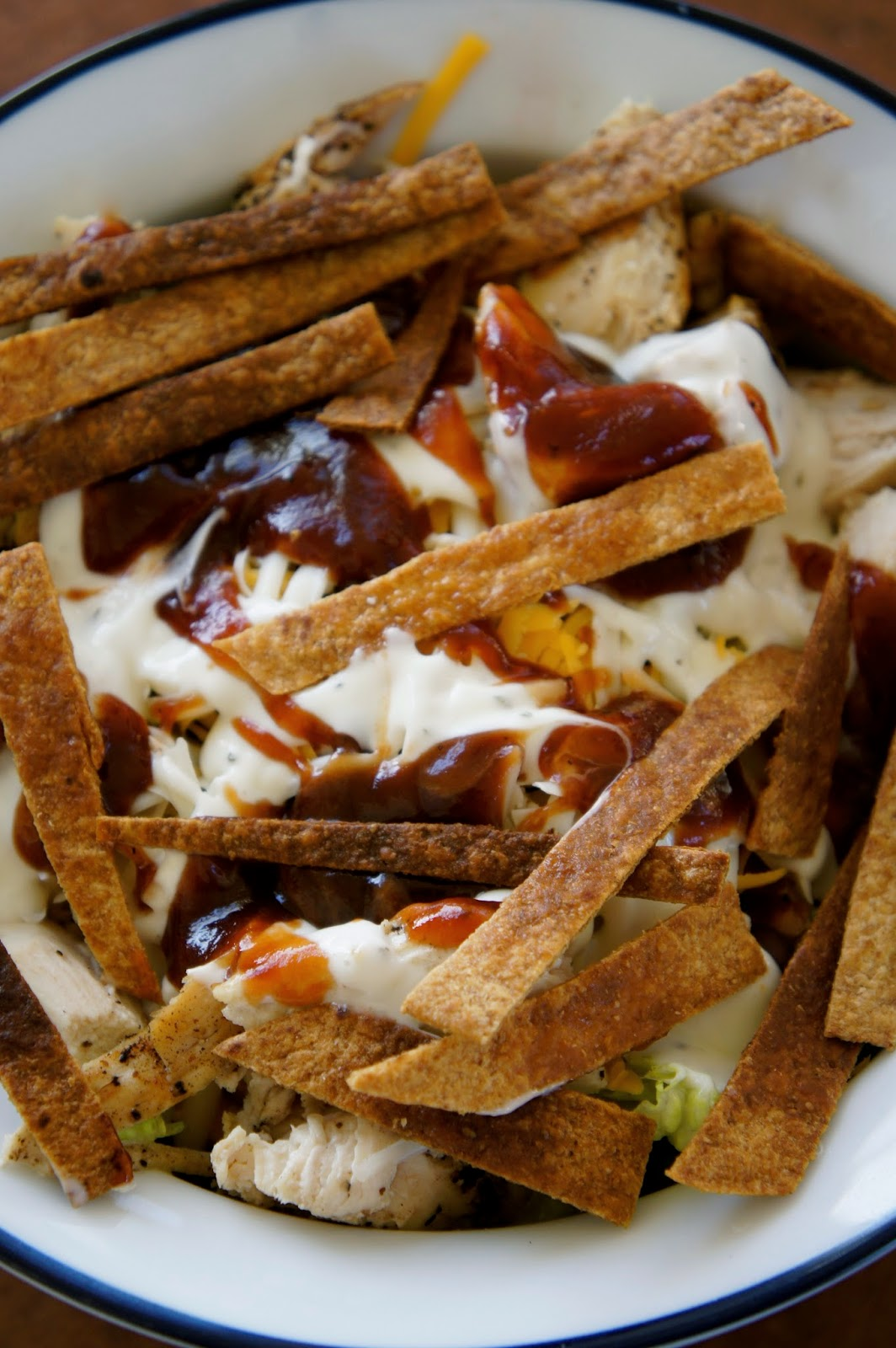 Barbecue Chicken Salad: Savory Sweet and Satisfying
