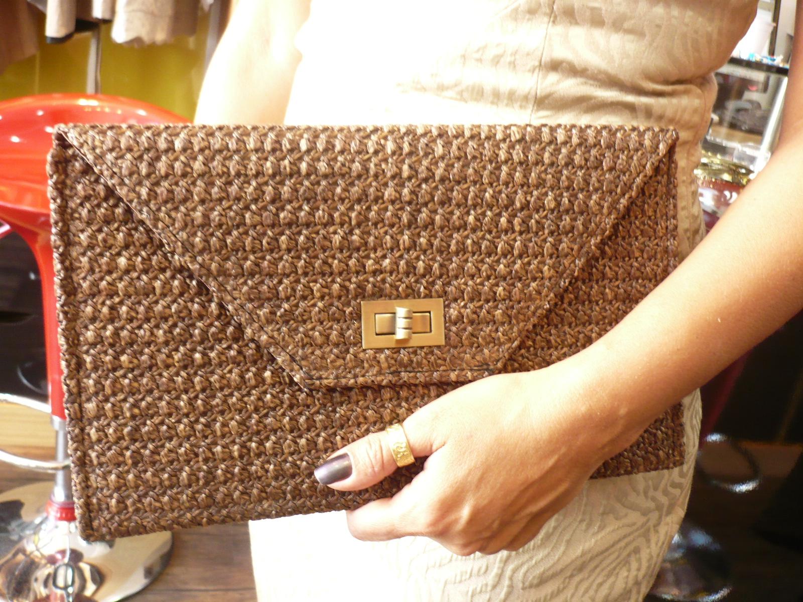 Bolsa De Mão Em Crochet : Vaneska prates crochet bolsas de rafia inspira?es