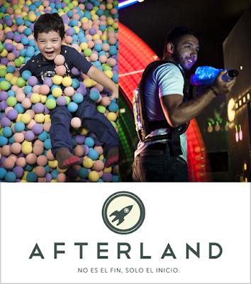 Afterland atracciones en el CC el Tesoro