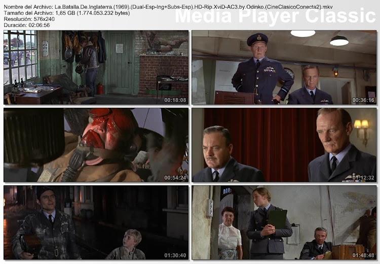 Imágenes de la pelicula: La Batalla de Inglaterra | 1969 | Battle of Britain | II Guerra mundial