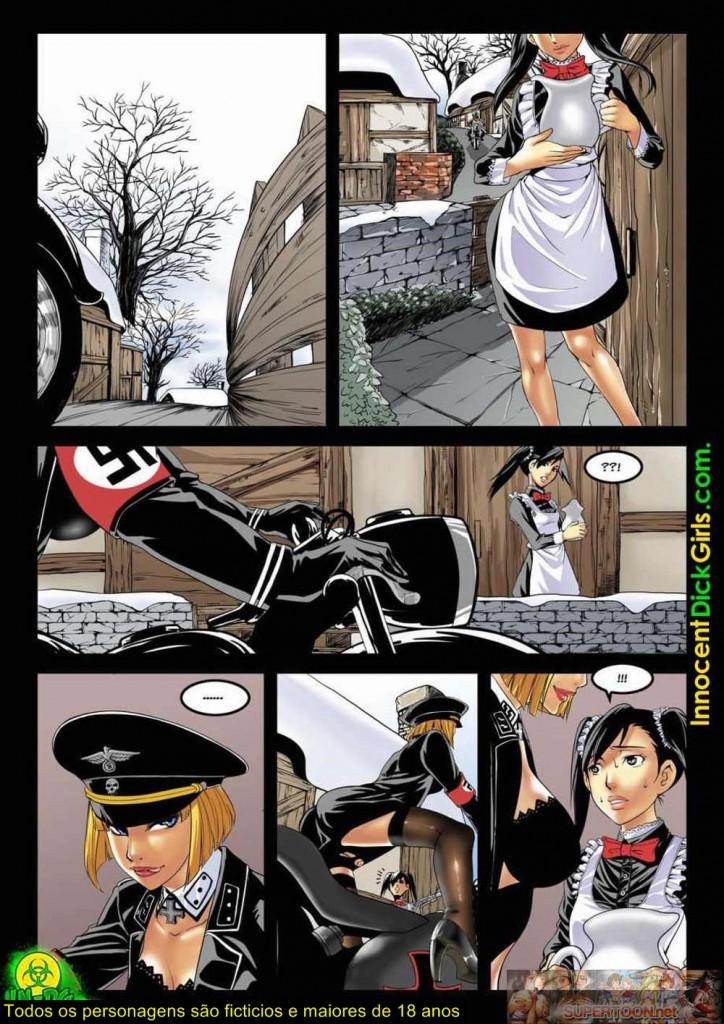 Nazi vs Comrade - Hentai futanari