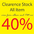 All craft item discount 40% until further notice.