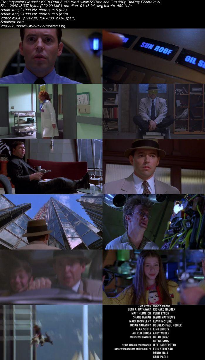 Inspector Gadget (1999) Dual Audio Hindi 480p BluRay