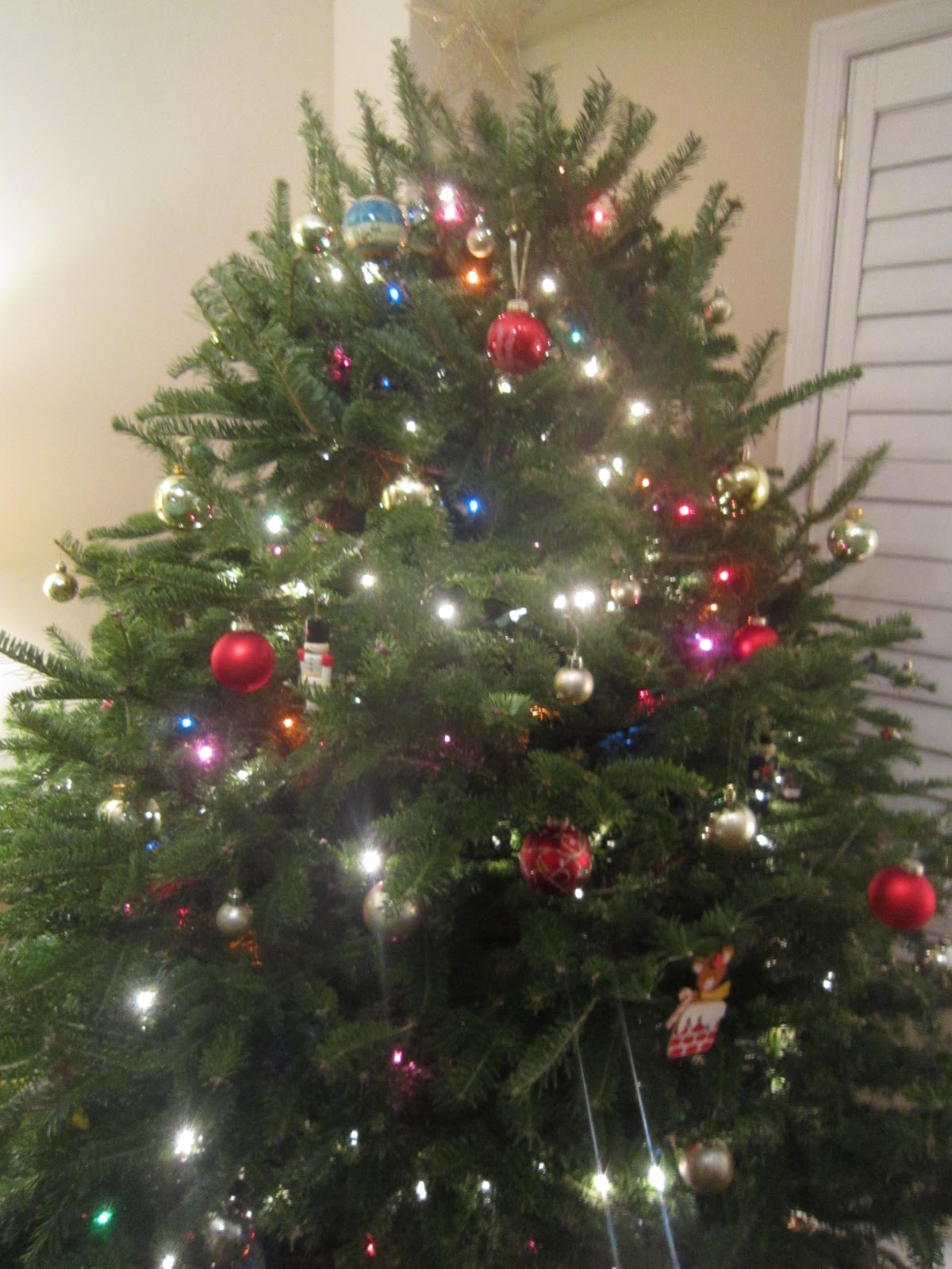 Little Townhome Love Our Festive Family Tree